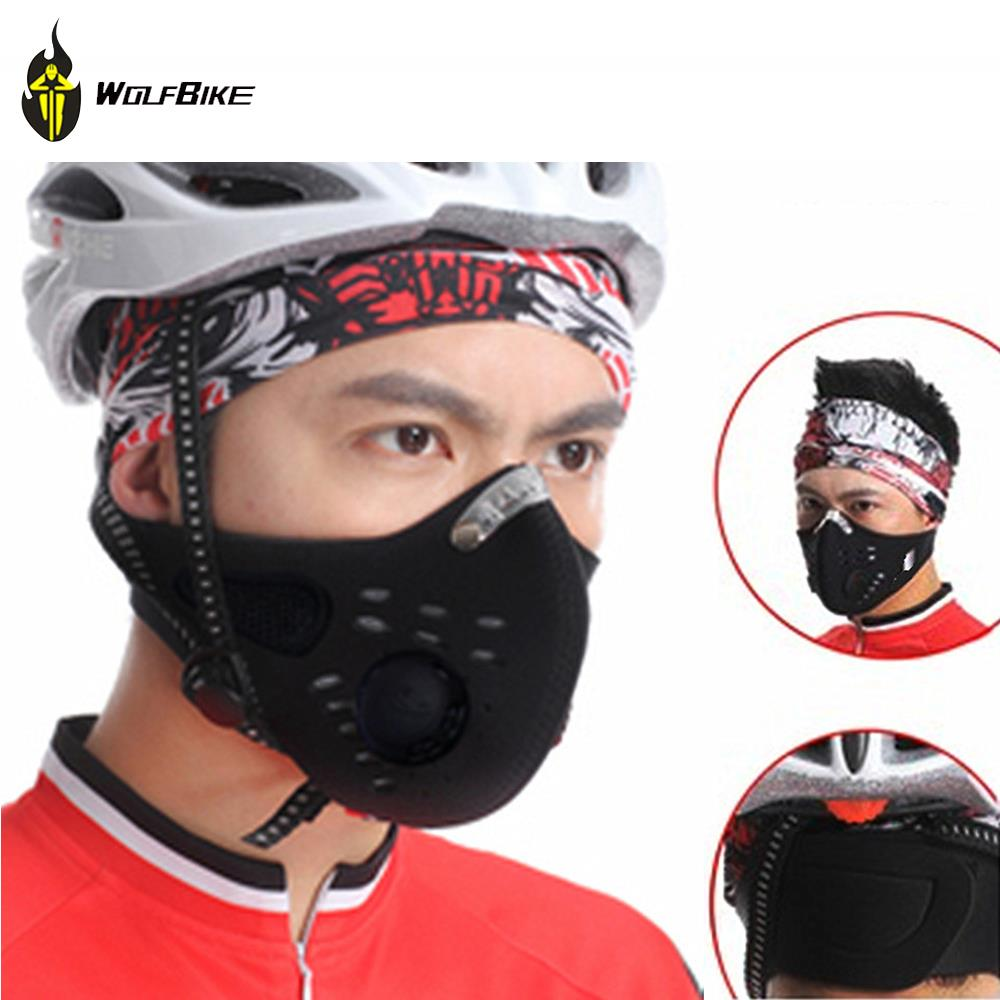 WOLFBIKE Anti-pollution City Cycling Face Mask Mouth-Muffle Dust Mask Bicycle Sports Protect Road cycling mask cover Protective(China (Mainland))