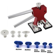 Auto Dent Repair Tool Dent Lifter Paintless Dent Repair Glue Puller Hand Lifter PDR Tool with 9 Pcs Glue Puller Tab(China (Mainland))