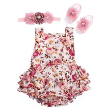 2016 summer spring children clothing in lots sunsuit baby wear baby girl onesie bebe boutique jumpsuit baby girls clothes #L111(China (Mainland))