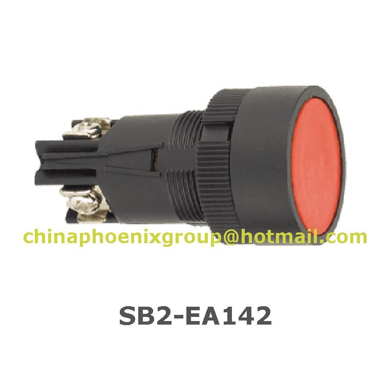 2015 hot sell XB2 ea142 XB2-ea142 economy push button switch self-resetting 22mm switch 10pcs free shipping(China (Mainland))