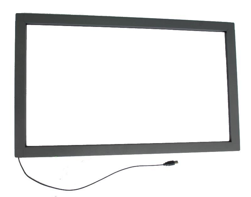 "23.6"" IR Infrared touchscreen, IR touch frame with glass, IR touch overlay kit with quick delivery(China (Mainland))"