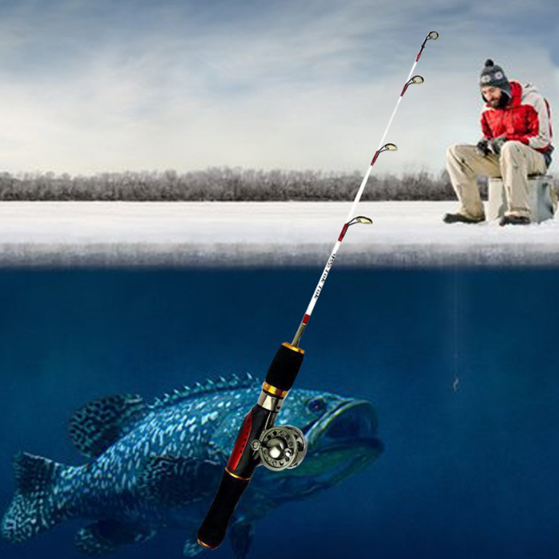 Buy free shipping 55cm newest ice fishing for Shipping tubes for fishing rods