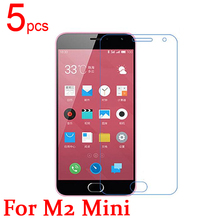 5pcs Ultra Clear LCD Screen Protector Film Cover For Meizu Meilan 2 Meiblue two Protective Film  +  cloth