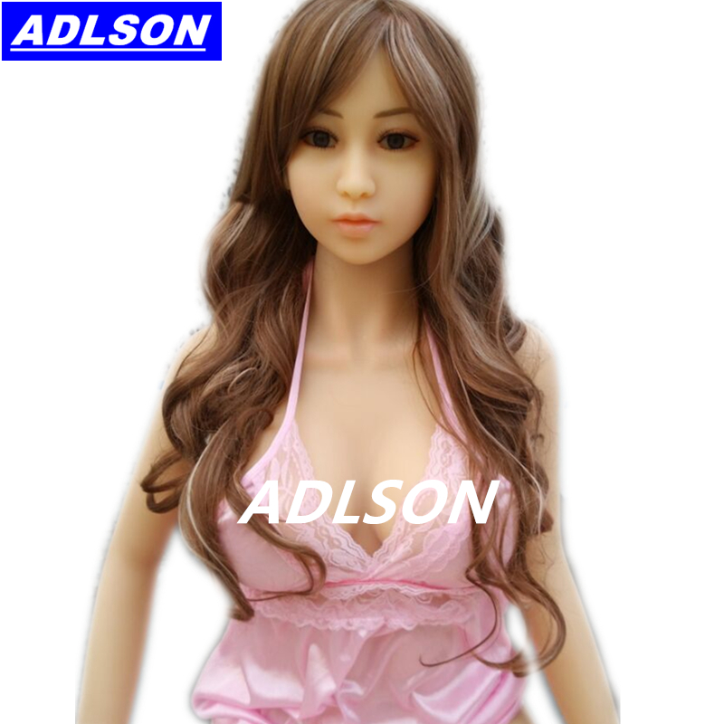 Full Silicone Sex Doll 148cm Love Real Life Tpe Full Body Adult Realistic Lifelike Doll Solid Plastic Live Black ADLSON Sex Toy(China (Mainland))
