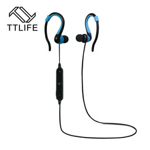 TTLIFE New 2016 bluetooth earphone wireless earphones bluetooth sports running stereo earbuds with microphone auriculares(China (Mainland))