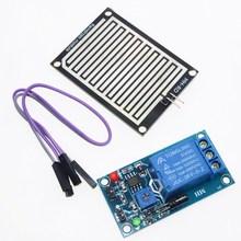 Buy Rain water sensor module + DC 5V Relay Control Module Rain Sensor Water Raindrops Detection Module Arduino robot kit 2PCS for $11.99 in AliExpress store