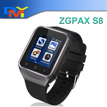 ZGPAX S8 Smart Watch 1.54″Android 4.4 MTK6572 Dual Core Smart Electronics 2MP Camera GPS WiFi MP3 MP4 FM Phone Record Phonebook