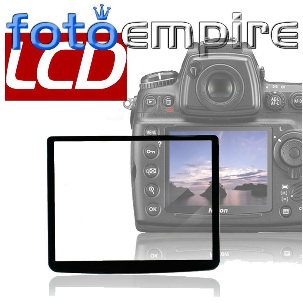 New Pro Optical Glass LCD Screen Protector Cover For Sony Sony A300 / A350 DSLR Camera()