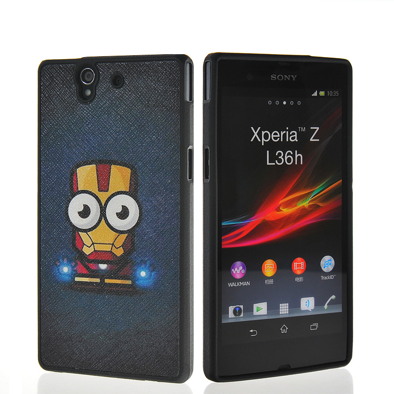 CUTE CARTOON PATTERN SOFT GEL TPU SILICONE CASE COVER FOR SONY XPERIA Z L36H - moonstore store's store