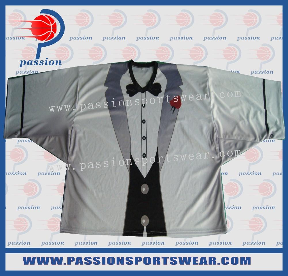 Sublimation custom goalie hockey jerseys(China (Mainland))