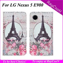 Buy LG Nexus 5 E980 high stylish Eiffel Tower leather wallet case,for Nexus 5 Big Ben worldmap leather stand cover for $5.50 in AliExpress store