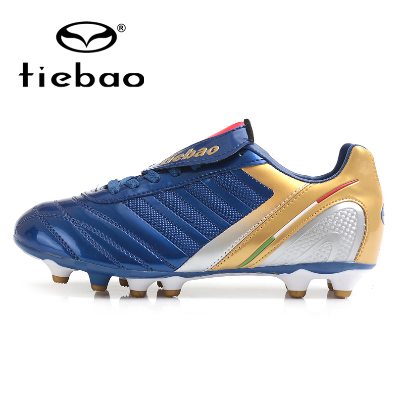 TIEBAO Professional Outdoor Soccer Shoes FG & HG & AG Sole Football Boots Men Women Athletic Soccer Cleats bola de futebol(China (Mainland))