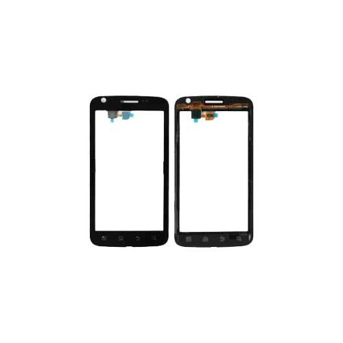 New Black Front Digitizer Touch Screen Replacement Parts for Motorola Atrix 4G MB860(China (Mainland))