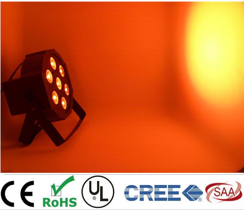 Fast Shipping American DJ Mega Quad Par Profile Bright Stage LED Wash Light RGB Color Mixing 7x9W(China (Mainland))