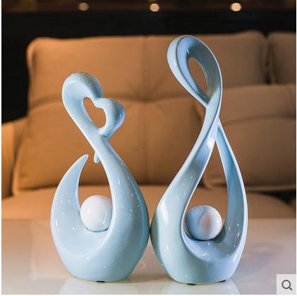 Acquista all 39 ingrosso online porcellana statue da - Oggettistica per la casa moderna ...