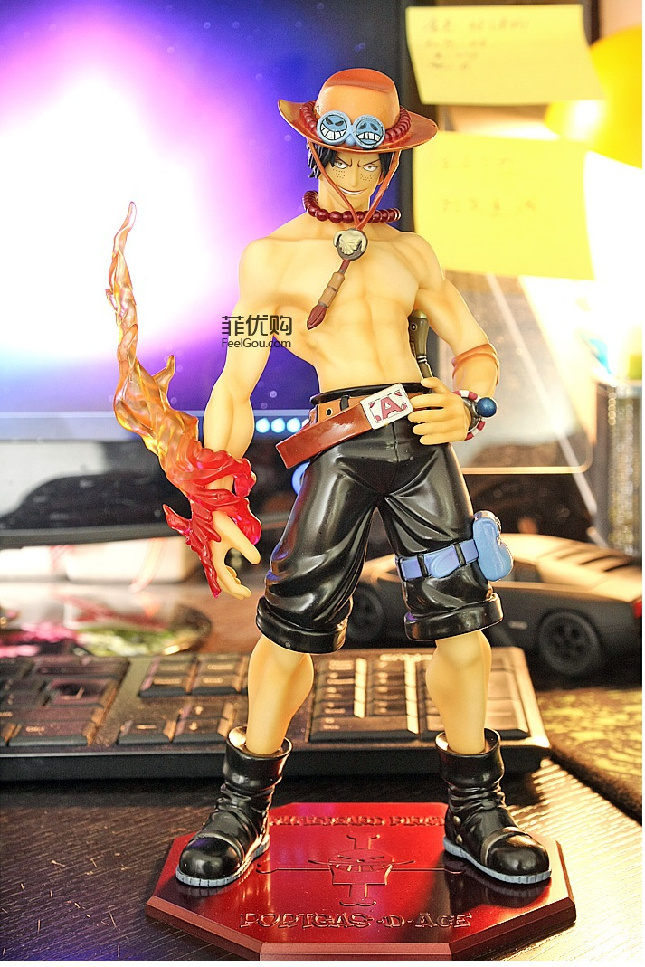 Birthday Present One Piece PORTGAS.D.ACE Ver.1.5 Action Figure Model Collection