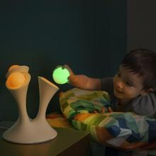 Vente chaude changement de couleur décoratif lampe de bureau de Table pour la chambre LED lumineux rougeoyant boule magique lumière de nuit LED Gadget jouets enfants(China (Mainland))