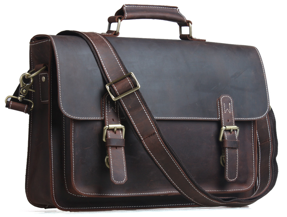 TIDING-Men-Briefcases-Laptop-Bag-Vintage-Style-Cross-Body ...