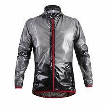WOSAWE Outdoor Sports Waterproof Windproof Rain Cycling Bike Bicycle Running Jacket Coat Jersey Superlight