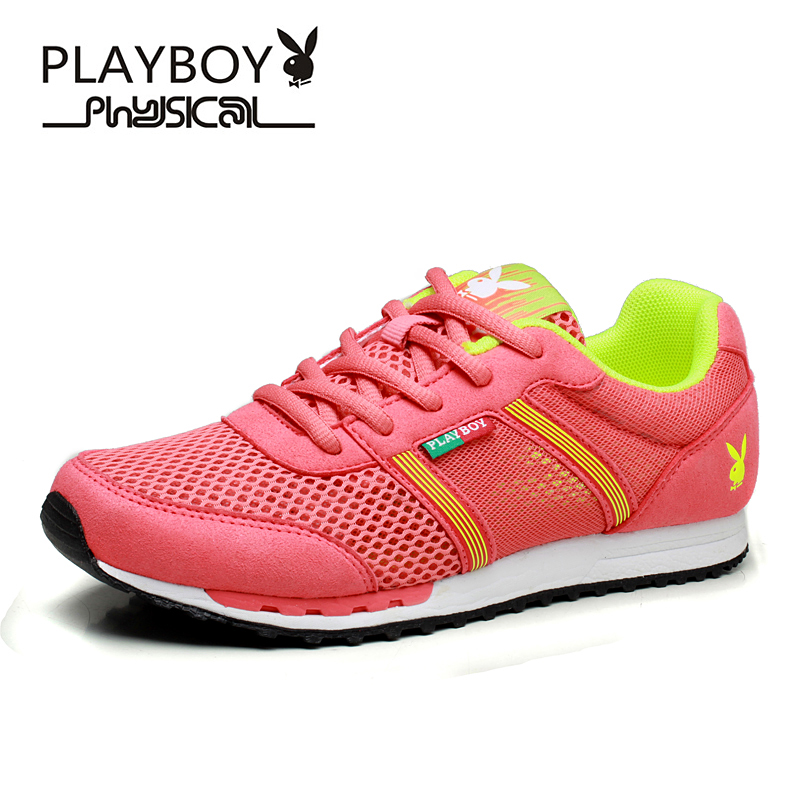 PLAYBOY Woman casual shoes breathable zapatillas mujer 2016 hot fashion flat women tenis style mesh - Feng shang co., LTD store