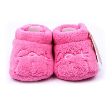 2015 New Fashion Cute Soft Coral Velve Baby Shoes With Cat Bear Cow Small Claws Baby Moccasins Wholesale 6 Colors