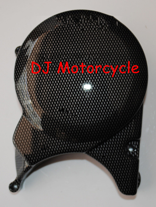 High performance dirt bike carbon engine side cover Top selling pit bike engines covers carbon Free