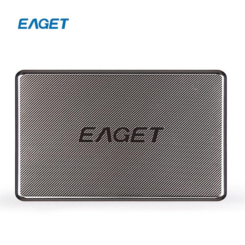 EAGET G50 1TB 500G USB 3.0 High-Speed Full Stainless Steel Encryption External Hard Drives HDDs Desktop Laptop Mobile Hard Disks(China (Mainland))