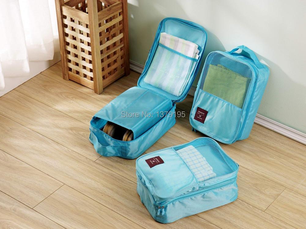 Free shipping Travel Goods waterproof shoe bag fashion shoes pouch storage bag women/men shoe bag(China (Mainland))