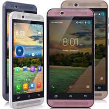 "4.5"" Original 3G WCDMA Unlocked Mobile Smart Phone Android 5.1 Quad Core 5MP CAM Dual SIM RAM 512MB+ROM 4GB GPS Cell phone"