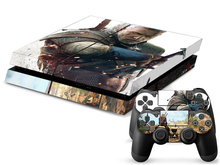 1 Set PVC For The Wither Game Decal Skin Stickers For Playstation 4 PS4 Console 2 Pcs Stickers For PS4 Controller PS4 Skin