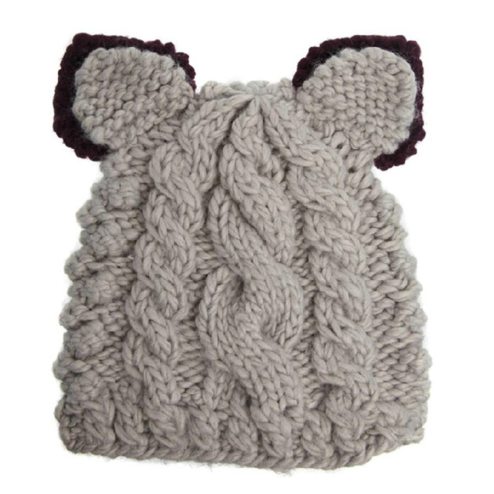 2015 turban m tze h keln z pfen katzenohren h te f r frauen plissee winter tuque winter gorro. Black Bedroom Furniture Sets. Home Design Ideas