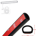 4 Meter Big D 14mm 12mm Type 3M Car Motor Door Seal Strip Weatherstrip Rubber Seal