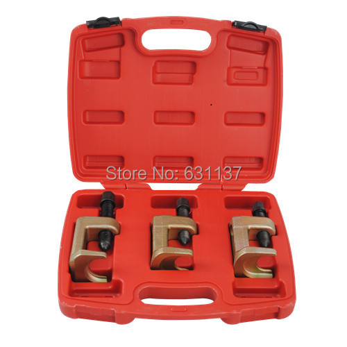 3Pc Deluxe Car Truck Vehicle U-Joint Ball Joint Brake Anchor Pin Service Remover/Installer Auto Repair 23-28-34MM Tool Set<br><br>Aliexpress
