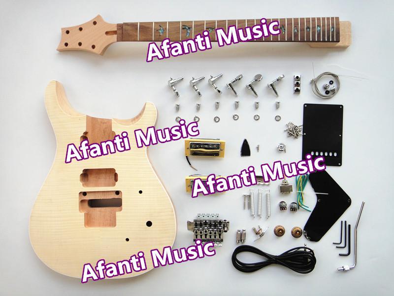 Afanti Music / Mahogany Body / Rosewood Fretboard / PRS style /  AFANTI electric guitar kit (APR-071K)<br><br>Aliexpress