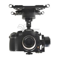 HG3D FPV Mini DSLR 3-Axis Brushless Gimbal Camera Mount PTZ for GH3 GH4 NEX5 A5000 6000 A7 Multicopter(China (Mainland))