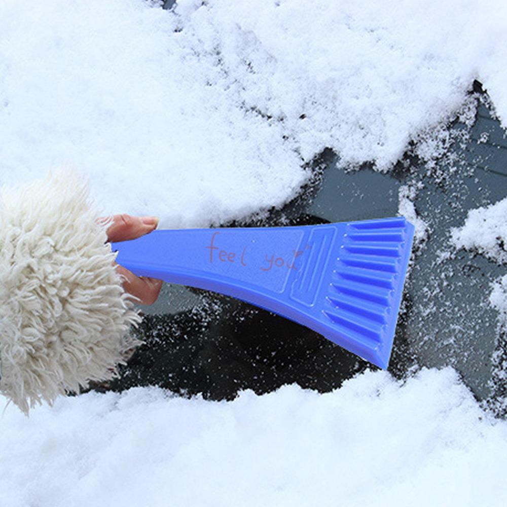 Магия мини лед лопата автомобиля автомобиль лобовое стекло снег скребок портативный очистка инструмента