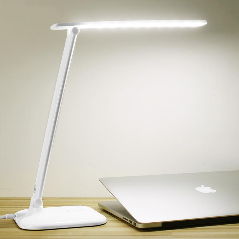 2016 New Folding Led Reading Desk Table Lamp,Adjustable Portable Bright 7W LED Mini Reading Book Light(China (Mainland))