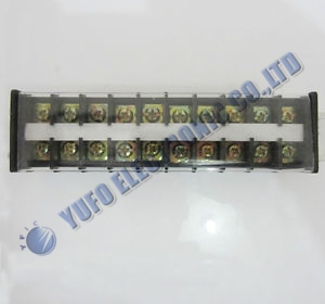 Free Shipping One Lot 1Pcs 600V 30A Guide Rail Type Wire Terminal Connector 10 Positions TD-3010 AK(China (Mainland))
