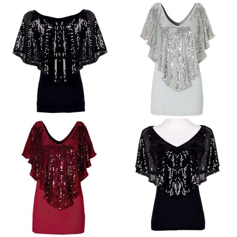 Wholesale New Fashion Beautiful Sequin Women Lady Sparkle Glitter ... cc4b01f7fb38