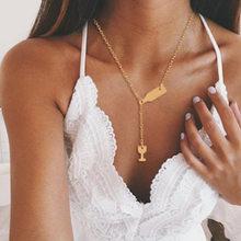 Ahmed Simple étoile & lune pendentif Collier pour femmes nouveaux Bijoux Maxi déclaration colliers Collier Bijoux de mode(China)