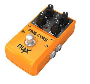 NUX TIME CORE 7 delay guitar effects  stereo loop machine with 40 seconds record time true bypass guitar pedal