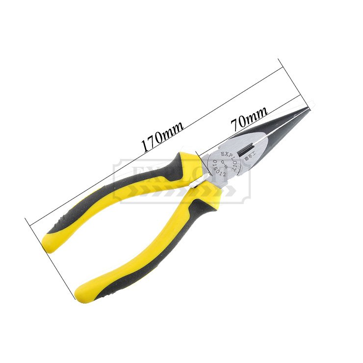 Free Shiping!!!Brand New!!!Long nose pliers with Industrial Grade from JIS(Hong Kong)