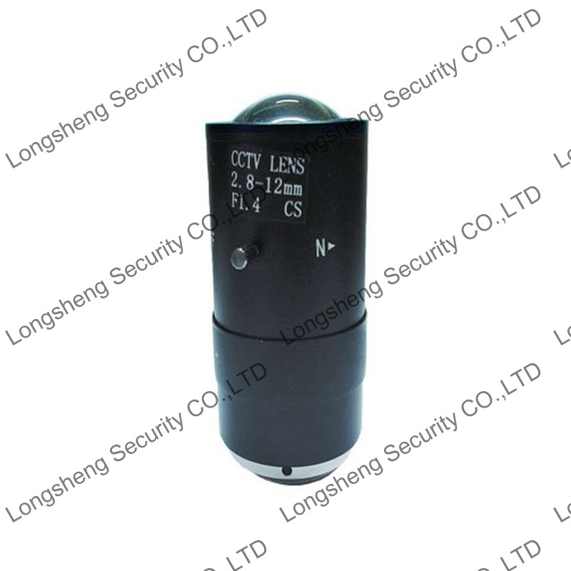 Manual CCTV Lens Adjust Vari-Focal 2.8-12 mm Manual IRIS Lens for CCTV Box/Bullet Cameras
