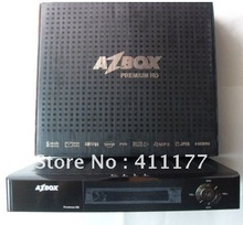 Free dhl shipping Azbox Premium HD satellite receiver internet sharing cccam(China (Mainland))