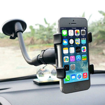 1pcs Hight Quality Car Mount Holder 360 Rotation Windshield Bracket for GPS Mobile Phone Wholesale Promotion