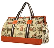 2015 Women Travel Bag Cute Cartoon Fashion Large Capacity Women sport Bag Thick Cotton Handbag Print Duffle Bags 50*34*17 CM(China (Mainland))