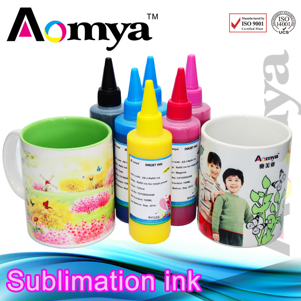 Фотография 4 Colors *100ml Specialized Sublimation ink For Epson printer,heat transfer ink