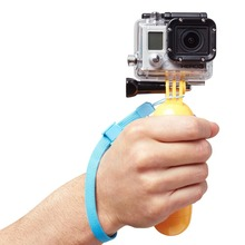 Go Pro Accessories Handheld Floating Hand Grip Gopro Bobber Mount for GoPro Hero 4 3+ 3 2 SJ4000 Xiaomi YI Sport Camera