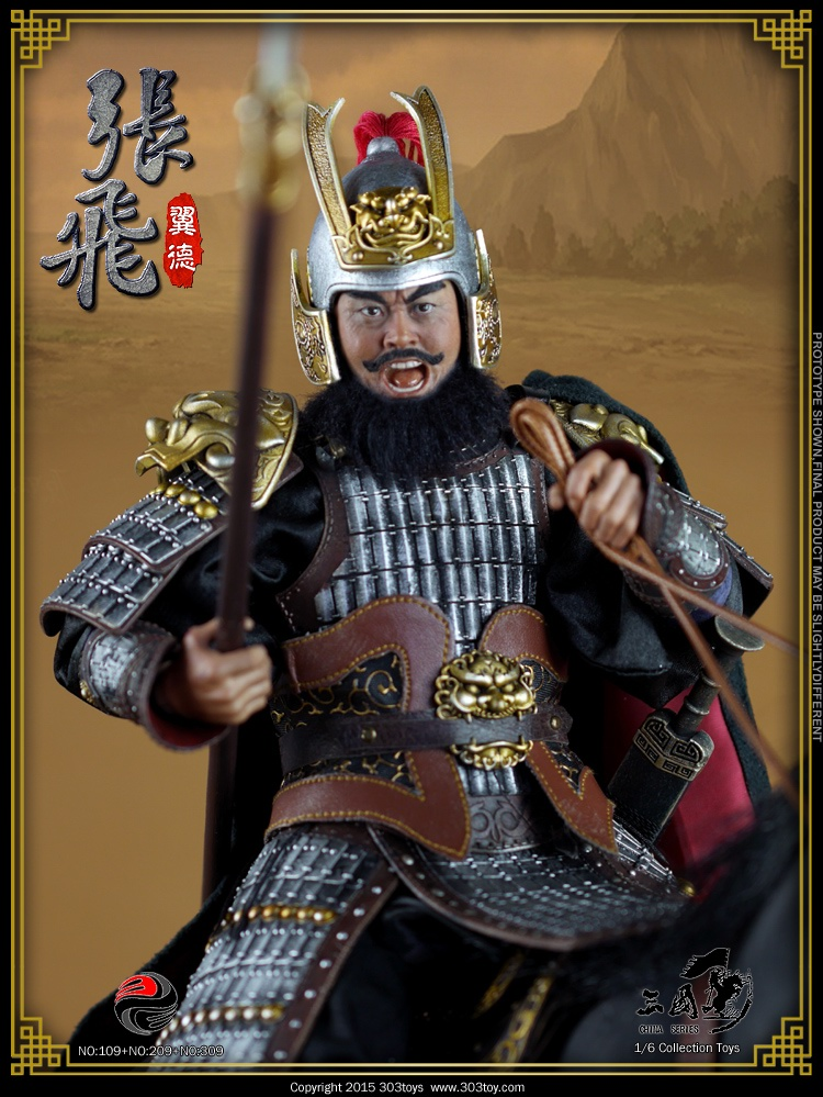 1/6 scale Figure doll Three Kingdoms Zhang Fei - Yide .12 action figures doll.Collectible figure Model toys and gifts<br><br>Aliexpress