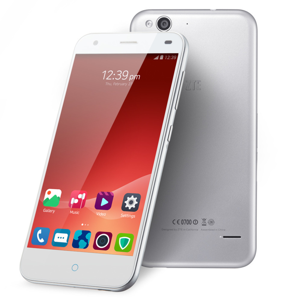ZTE Blade S6 5 inch HD IPS 1280*720 Android 5.0 Qualcomm Octa-Core 1.5GHz Dual SIM LTE 4G Phone 2GB RAM 16GB ROM 13.0MP Camera(China (Mainland))